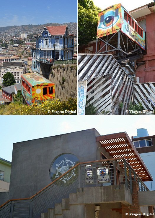 Casa do Neruda em Valparaíso + Ascensor